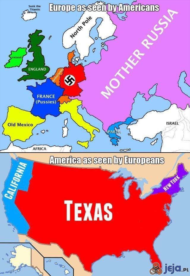 Wyobrażenia kontynentów