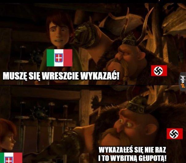 Relacje III Rzeszy z Włochami po 1941 roku były jak: