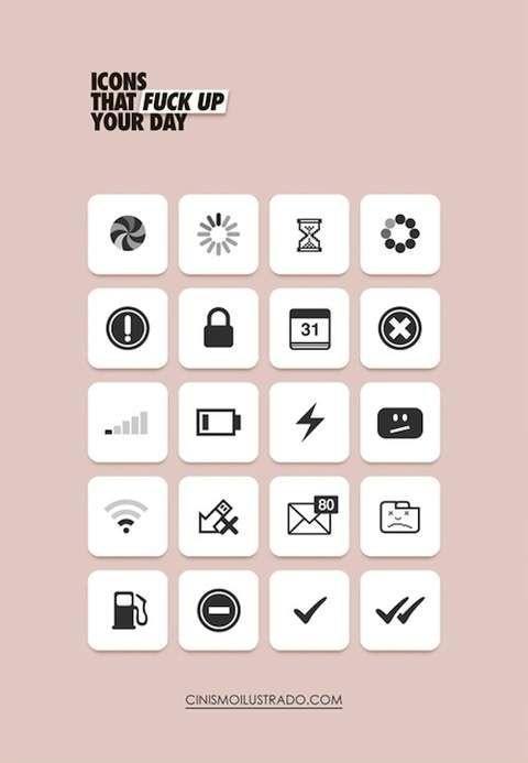 Ikony, które psują dzień