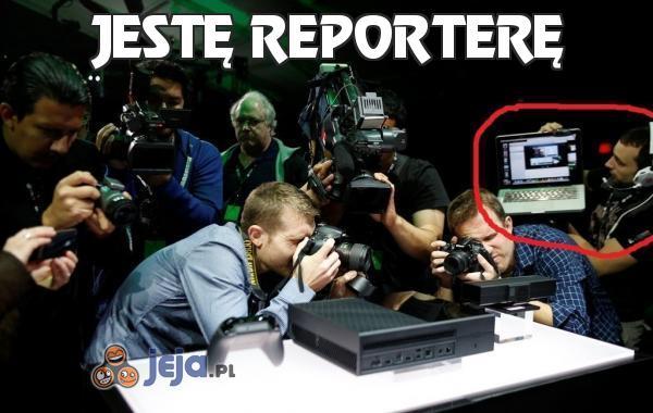 Jestę reporterę
