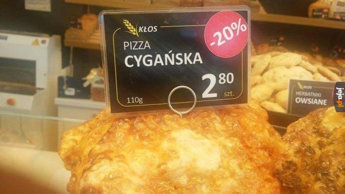 Pizza z gruzem