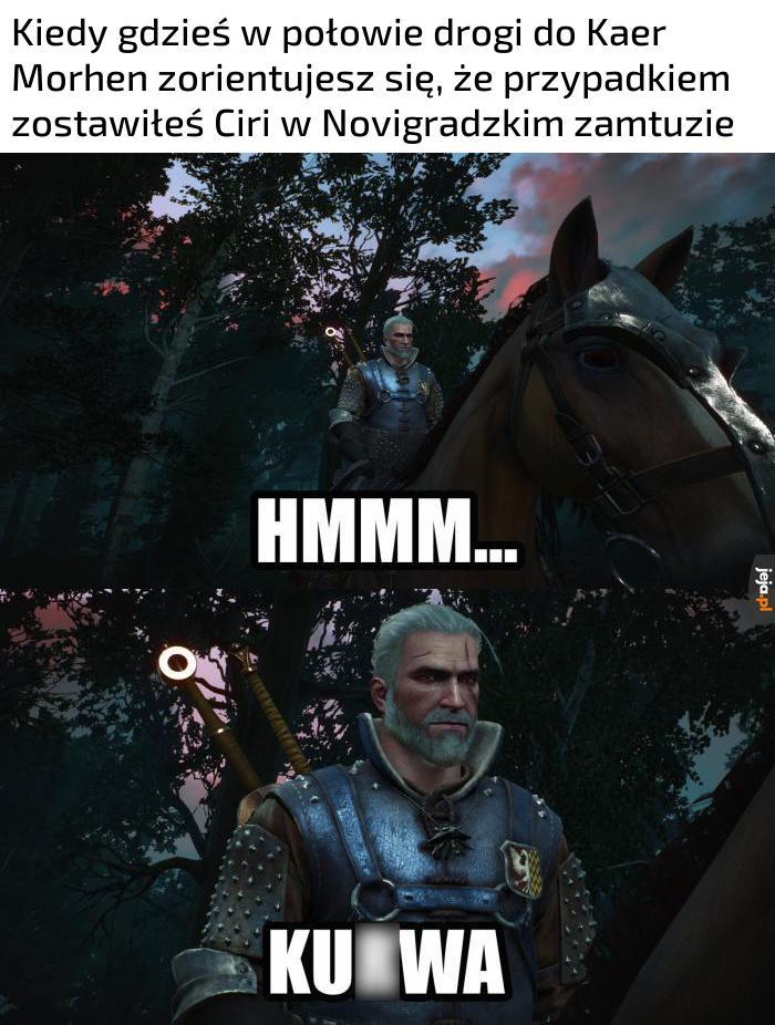 No i co ja teraz powiem Vesemirowi?