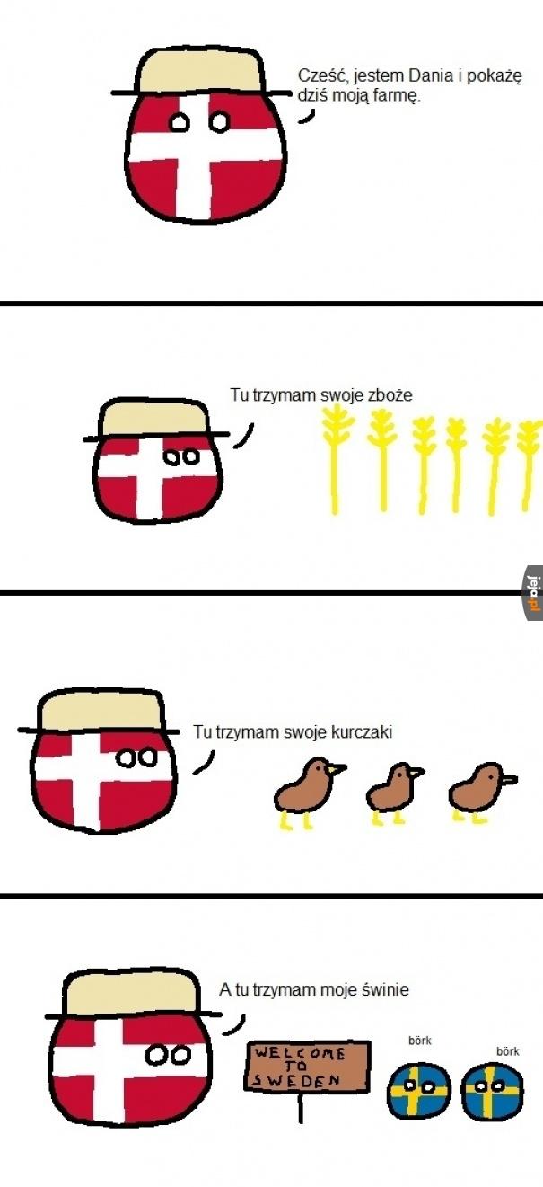 Duńczycy nie lubią Szwedów