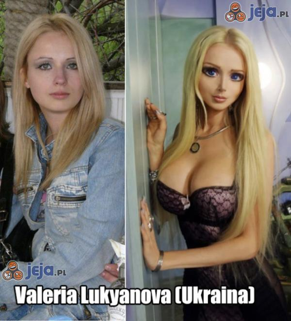 Barbie transformacja
