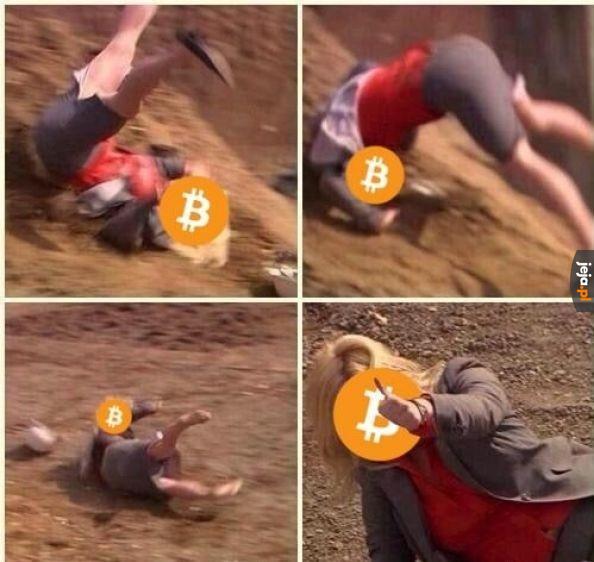 Tymczasem ceny bitcoina...