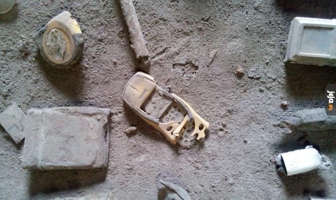 Nokia po erupcji wulkanu w Indonezji