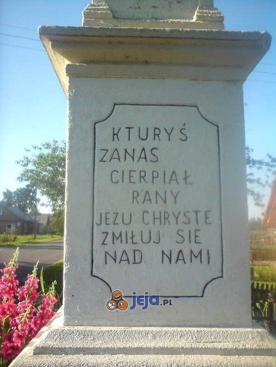 Ortografia woła o pomstę do nieba...
