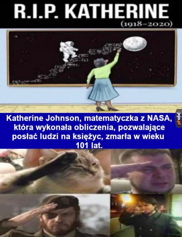 Wciśnij F dla kosmicznej pani