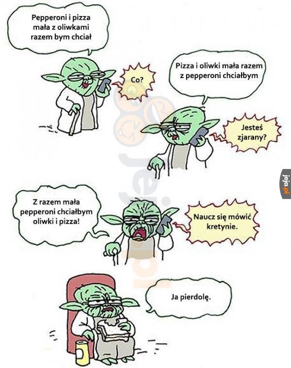 Biedny Yoda