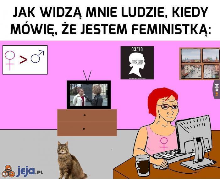 Typowa feministka