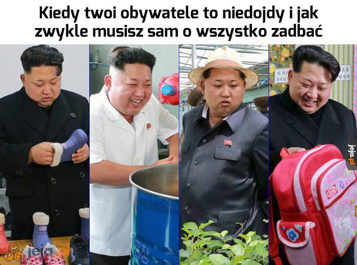 Ciężki jest żywot dyktatora