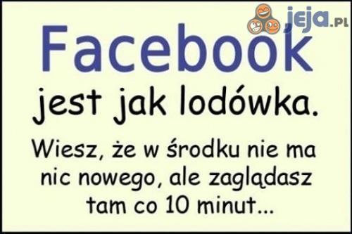 Facebook jest jak lodówka