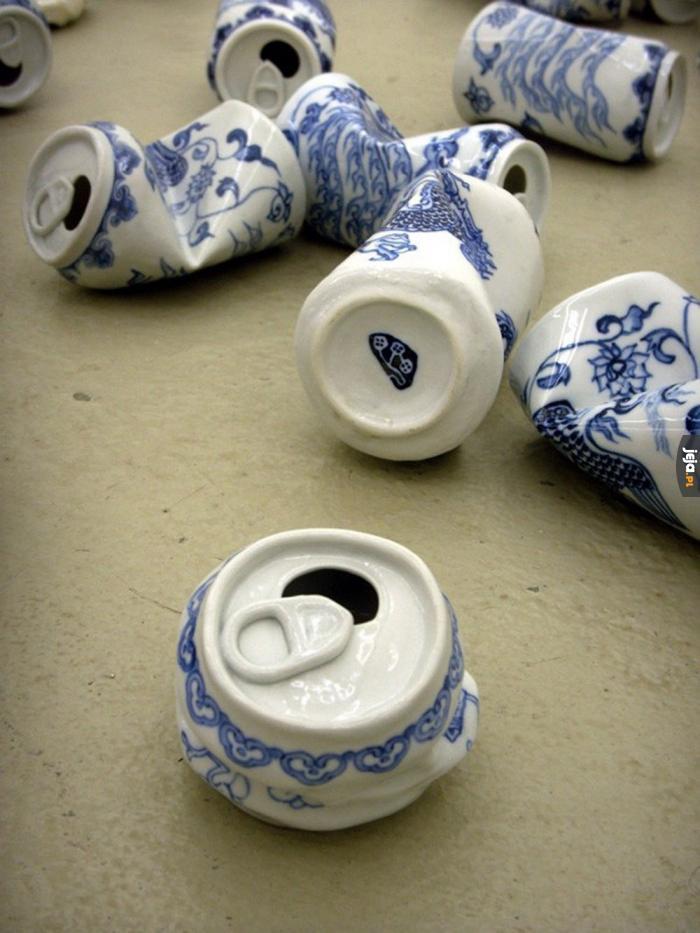 Ceramiczne puszki