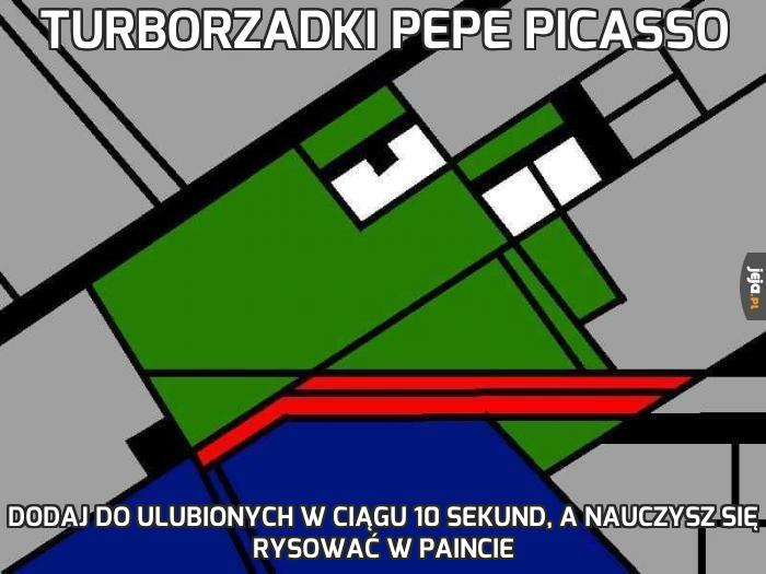 Turborzadki Pepe Picasso