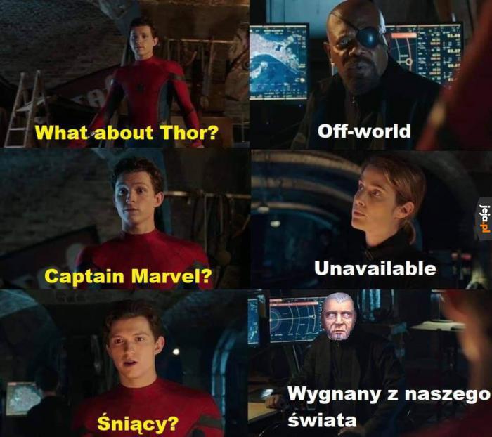 Superbohaterowie niedostępni