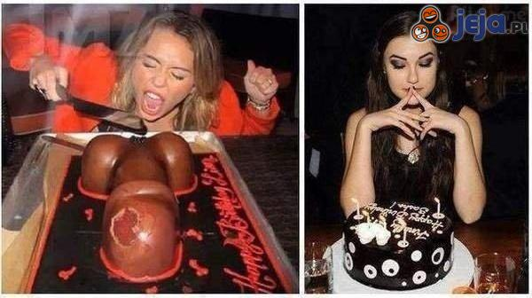 Urodziny Miley Cyrus vs Sashy Grey
