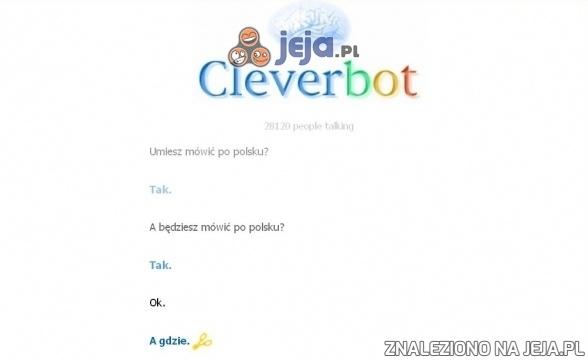 Weź się tu dogadaj z Cleverbotem