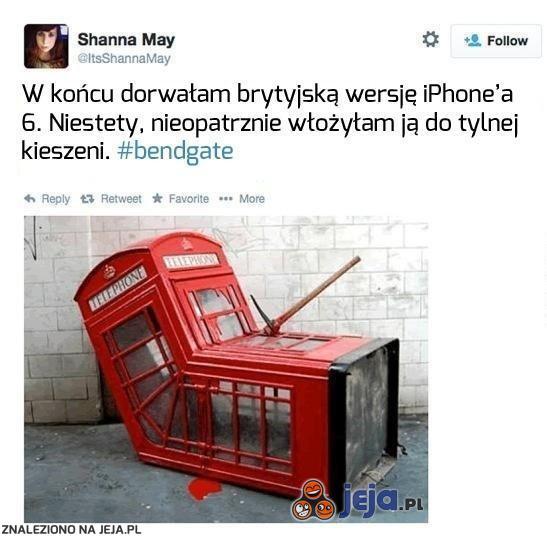 iPhone 6. Wersja brytyjska