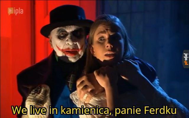 Panie Joker, pan żeś jest zwykła menda ludzka!