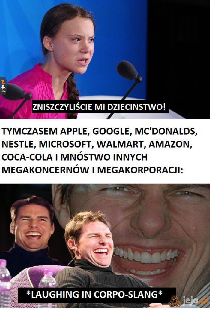 To wszystko spisek korporacji