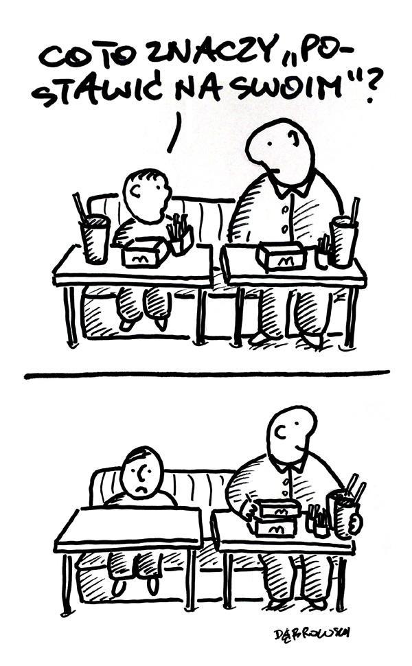 Tata zawsze pomoże zrozumieć