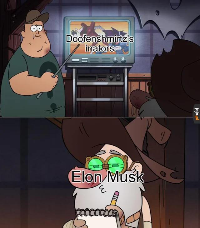 Elon Musk inspiruje się wynalazkami Dundersztyca