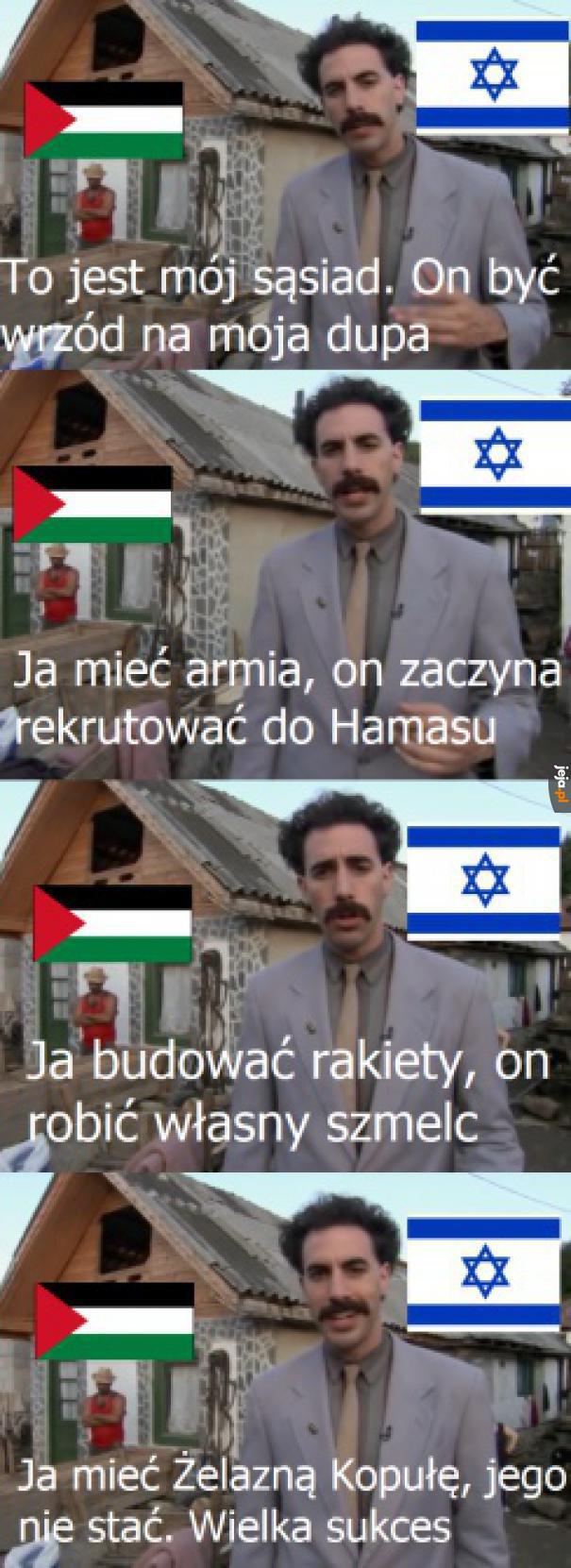 Tymczasem na Bliskim Wschodzie