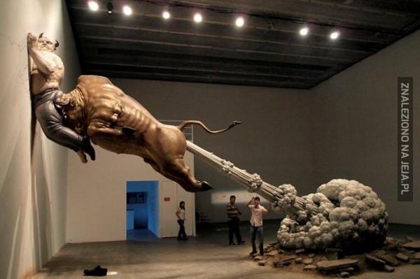 Sztuka współczesna jest dziwna...