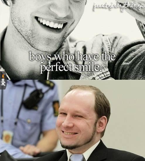 Chłopcy, którzy tak pięknie się uśmiechają...
