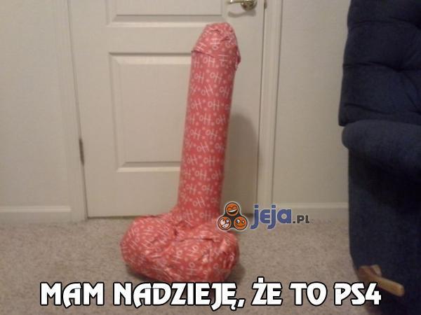 Mam nadzieję, że to PS4