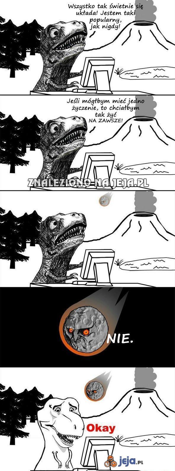 Historia popularnego dinozaura