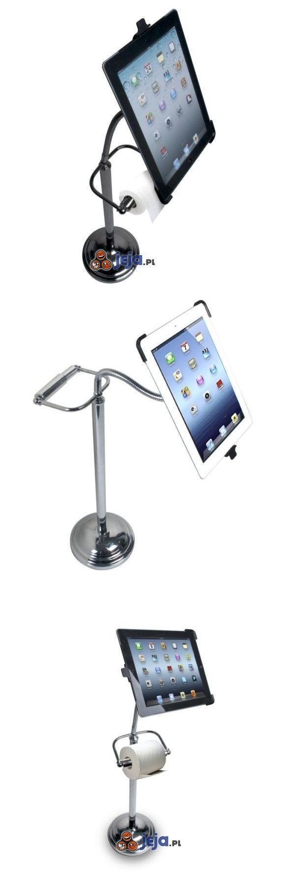 Toaletowy uchwyt na iPada