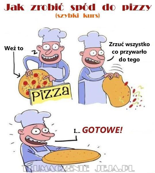 Spód do pizzy