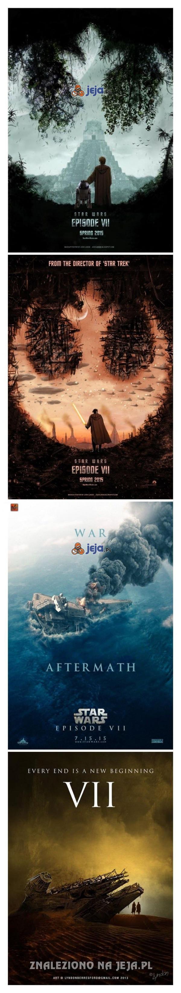 Fanowskie plakaty kolejnej części Gwiezdnych Wojen