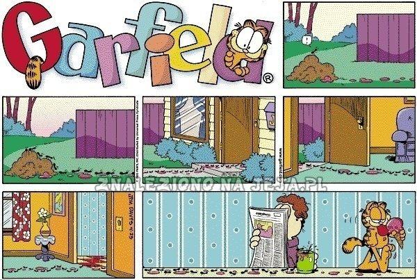 Garfield i mrówki