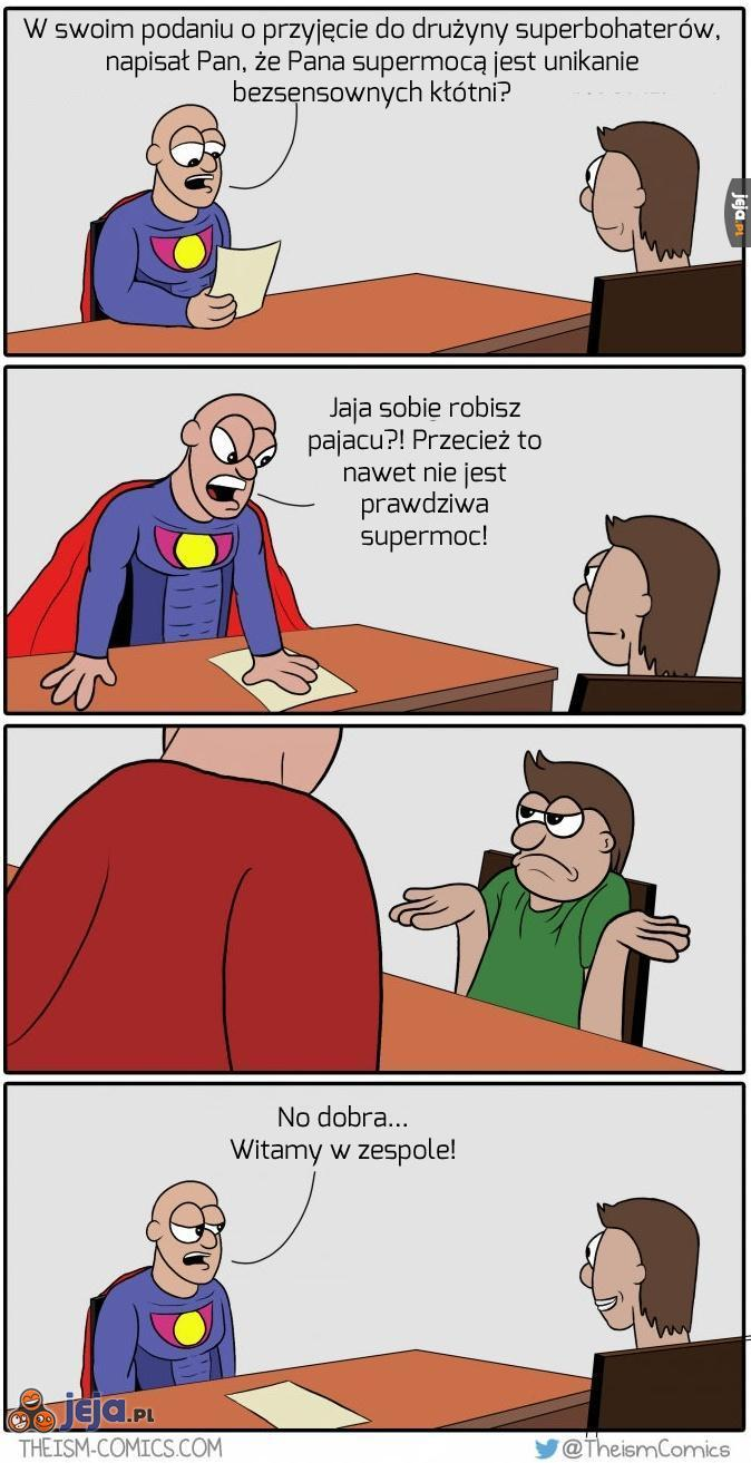 Nowy superbohater!