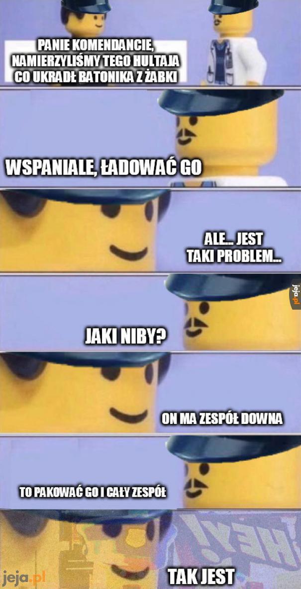 Mieliśmy takiego policjanta...