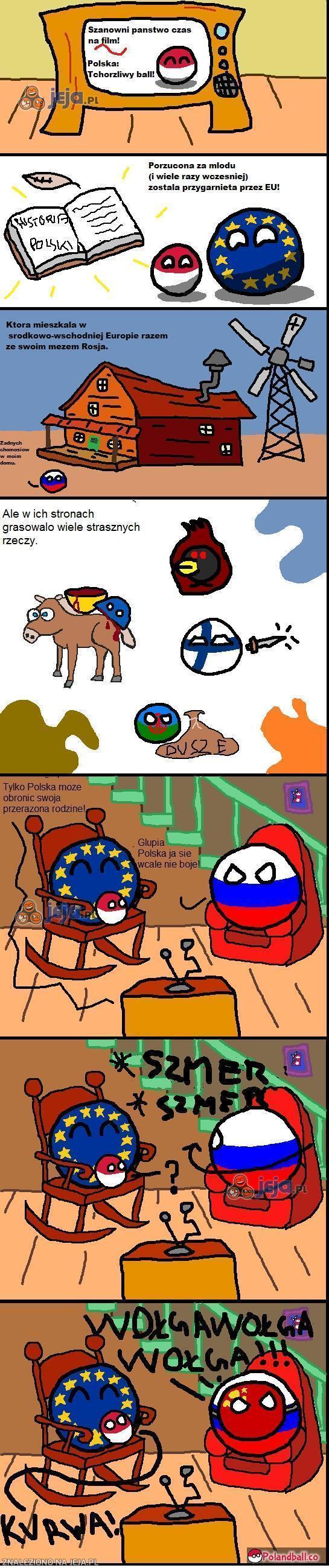 Polska tchórzliwy ball!