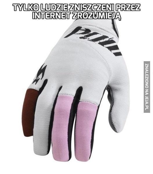 Tylko ludzie zniszczeni przez internet zrozumieją
