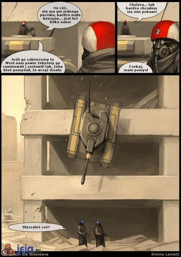 Przeminęło z bombami - czołg