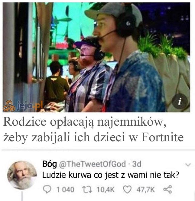 Bóg opuścił grę