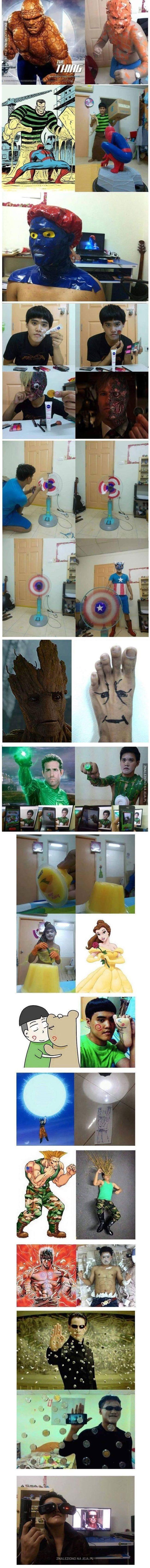 Niskobudżetowe cosplaye