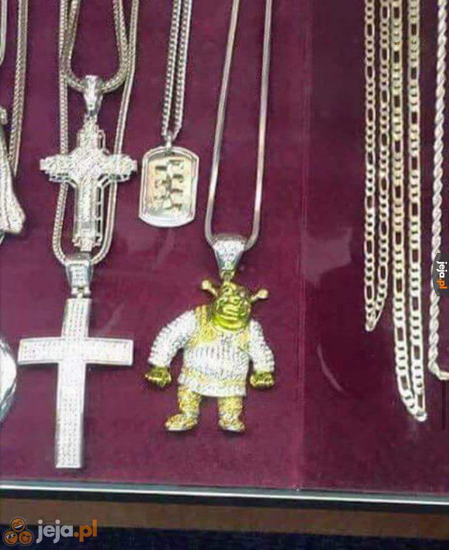 Szanuję symbole religijne na ludzkiej szyi
