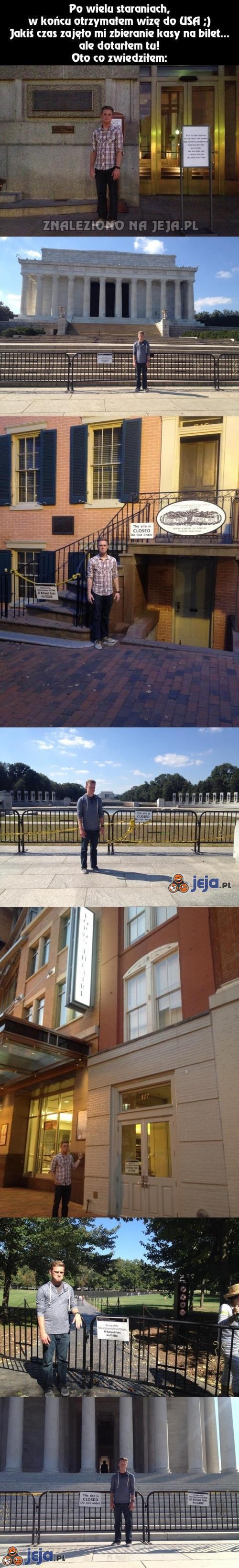 Zwiedzanie USA