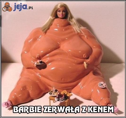 Barbie w depresji po nieudanym związku