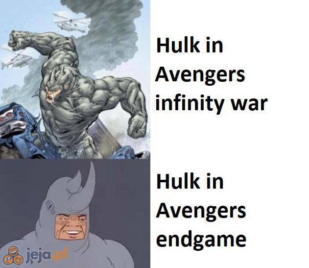 Przystojny ten nowy Hulk