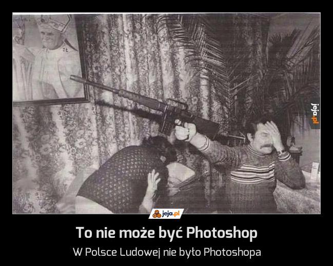 To nie może być Photoshop