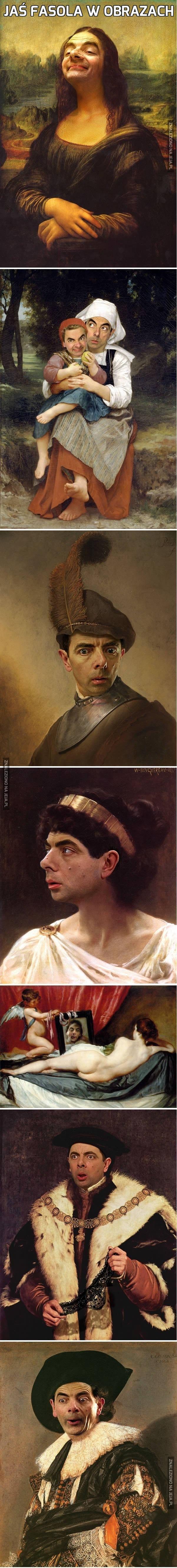 Jaś Fasola w obrazach