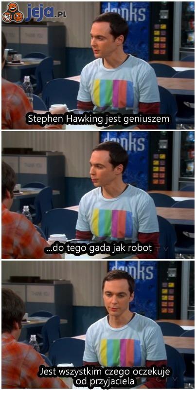 Sheldon o wymarzonym przyjacielu