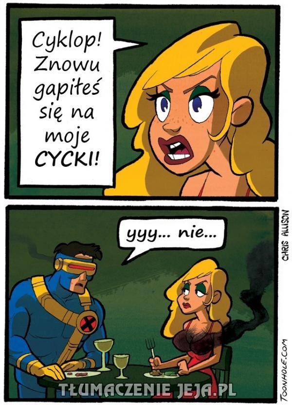 Cyklop nie ma lekko